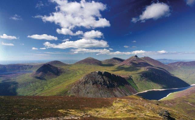 Mourne Mountains. Foto: Turismo de Irlanda.