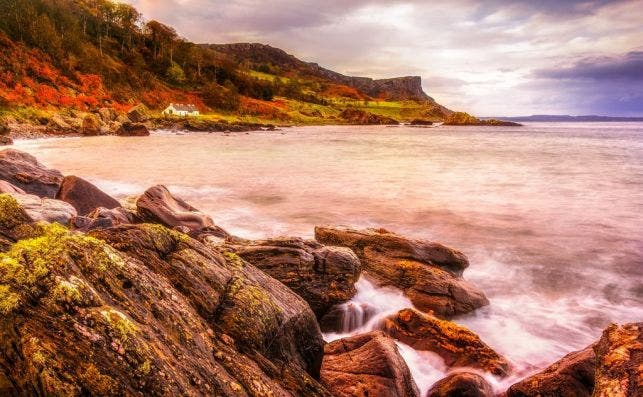 Murlough Bay. Foto: Turismo de Irlanda.