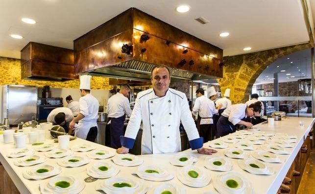 Ãngel León. Foto Ãlvaro Fernández Prieto. Restaurante Aponiente.