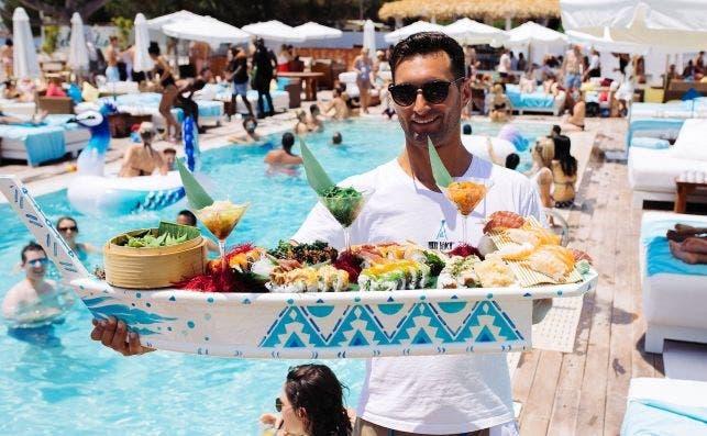 Nikki Beach Ibiza. Foto Fernando V.