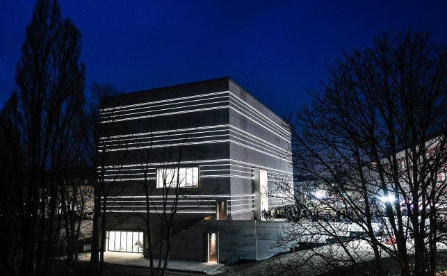 Nuevo museo Bauhaus de Weimar. Foto EFE.