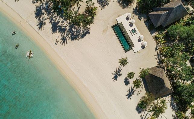 Nukutepipi, Polinesia Francesa. Foto Airbnb Luxe.