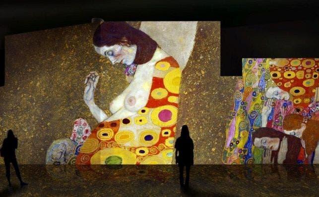 Oro de Klimt. Foto: Nomad Art.