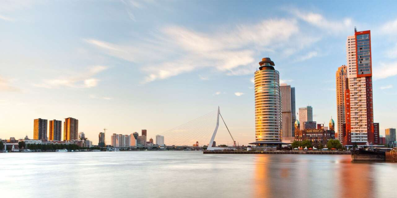 Panoramica Kop van Zuid. Foto Turismo de Roterdam.