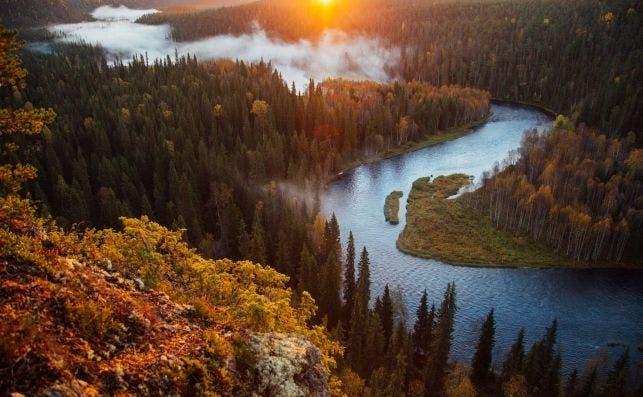 Parque Nacional Oulanka. Foto: VisitFinland.