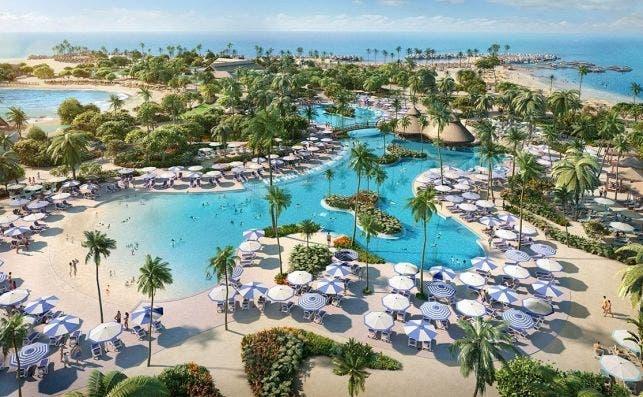perfect day island cococay bahamas oasis lagoon min