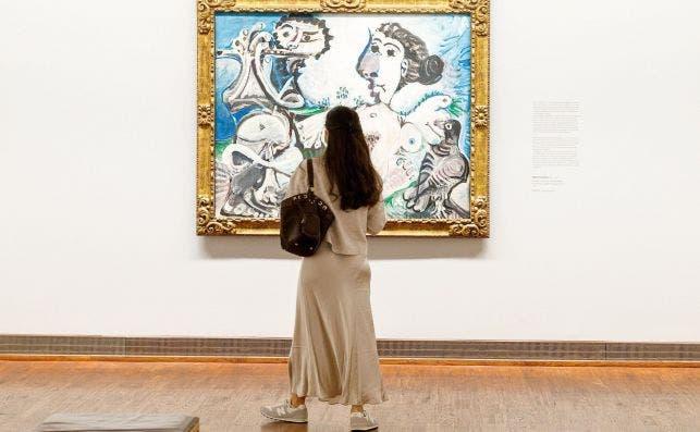 Picasso. Albertina Modern. Foto  Florian Wieser EFE EPA.