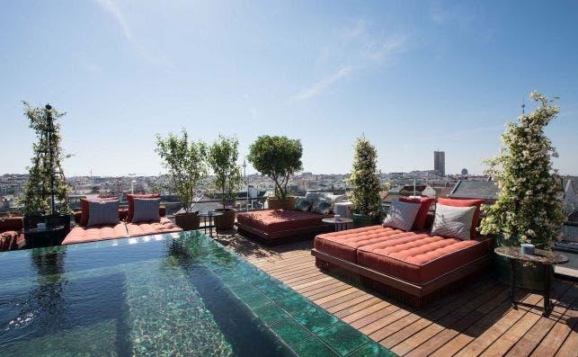 Picos Pardos sky lounge. Foto: Bless Hotel Madrid.