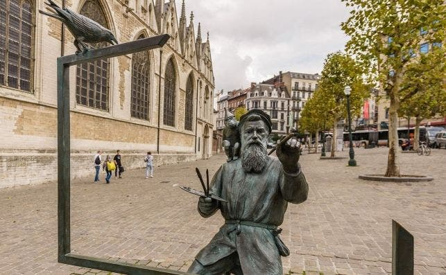 Pieter Bruegel El Viejo protagoniza la escena cultural belga este año. Foto Visit Brussels