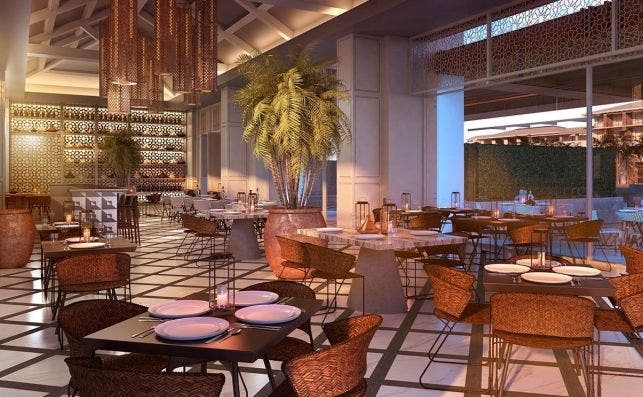 Playa Bavaro Restaurante Mediterranean. Foto Lopesan Hotel Group.