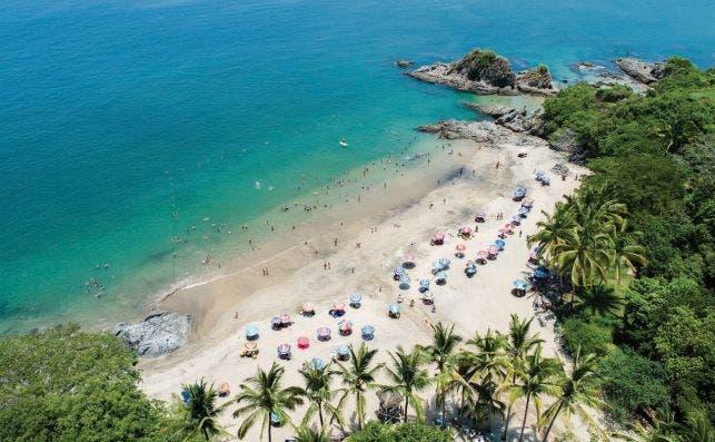 Playa Los Muertos. Foto Turismo Riviera Nayarit.
