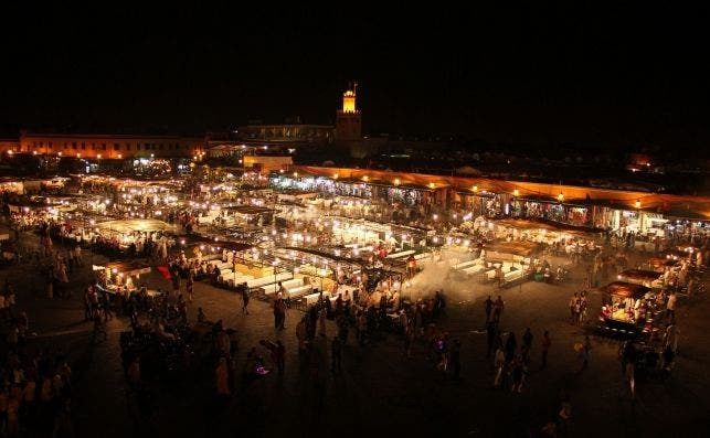 Plaza Jemaa el Fna, Marrakech. Foto: Celso Claro | Pixabay.