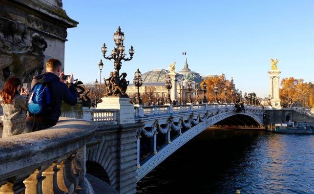 Pont Alexandre III. Foto: Turismo de PariÌs.