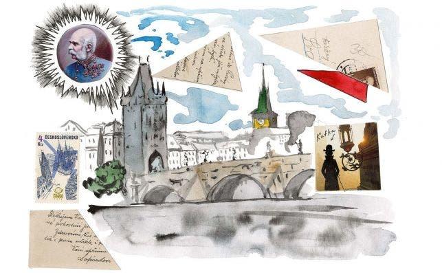 Praga, de Pavel Pepperstein. Foto Louis Vuitton