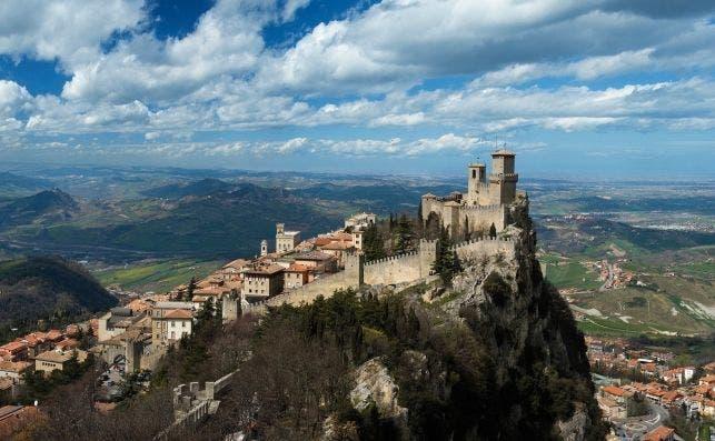 Prima torre, San Marino.