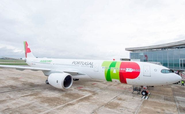 Primer A330-900 entregado el lunes 26 a la portuguesa TAP en Toulouse. Foto Airbus.