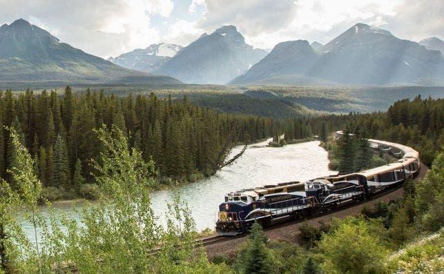 Primer paso del Oeste. Foto Rocky Mountaineer.