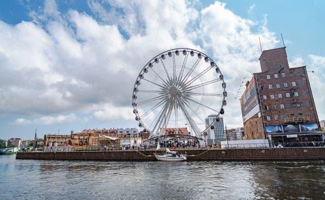 Puerto de Gdansk. Foto Pixabay.