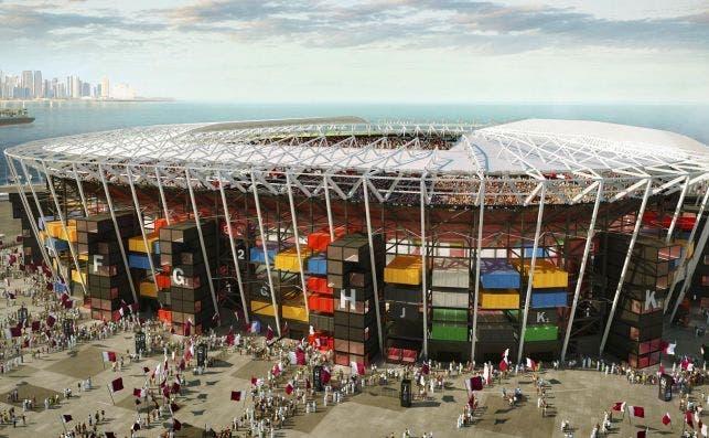 Qatar estadio foto Fenwick Iribarren Architects