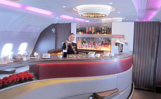 qatara airways bar