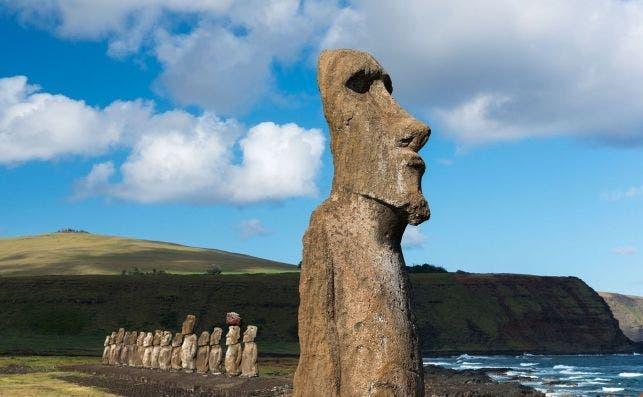 Rapa Nui. Foto Turismo de Chile.