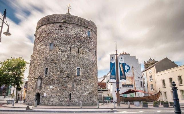 Torre Reginald, Waterford. Foto: Turismo de Irlanda.