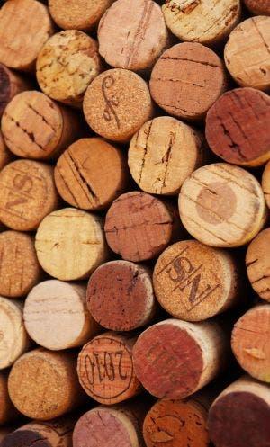 Corchos de botellas de vino. Foto: Renzo Souza