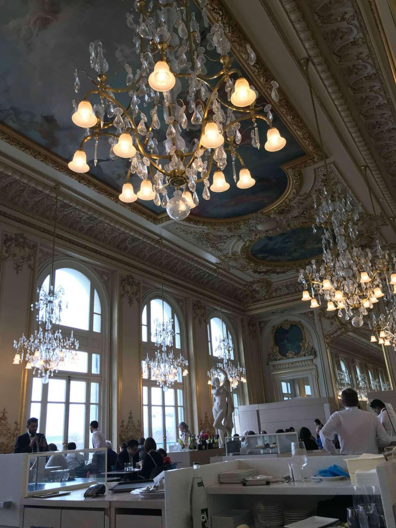 Restaurante del Museo de Orsay. Foto Gonzalo A. Pérez.