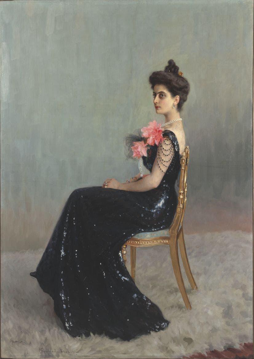 Retrato Inna Regentova. Foto Hermitage Amsterdam