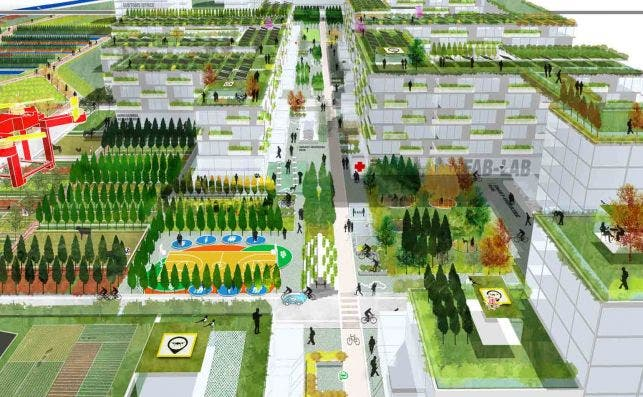 RIVERSIDE Tirana Credits Stefano Boeri Architetti 3