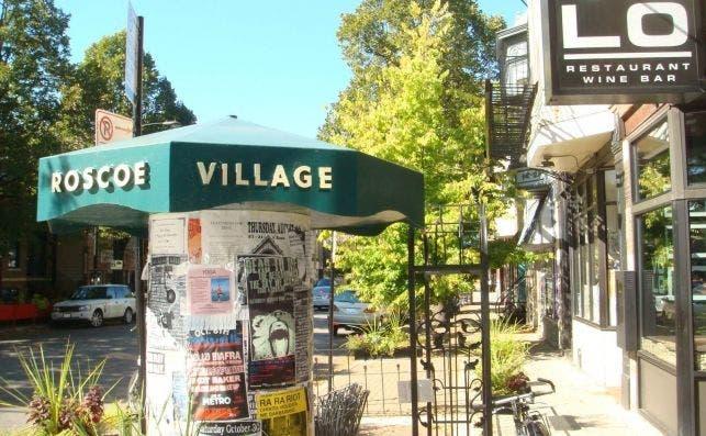 Roscoe Village street