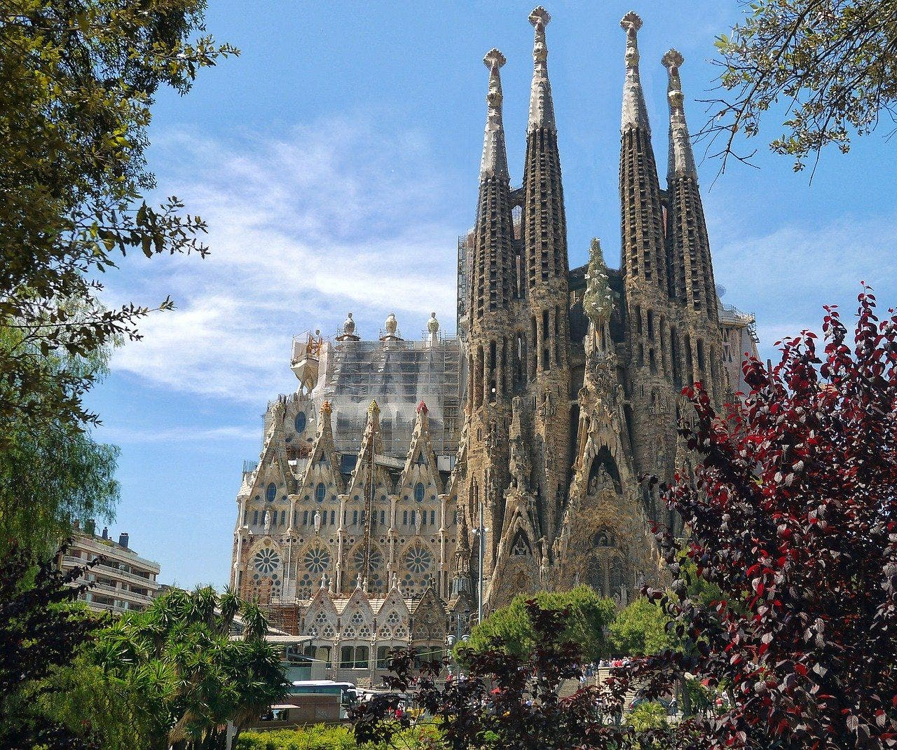 Sagrada Familia. Foto Patrice Audet Pixabay