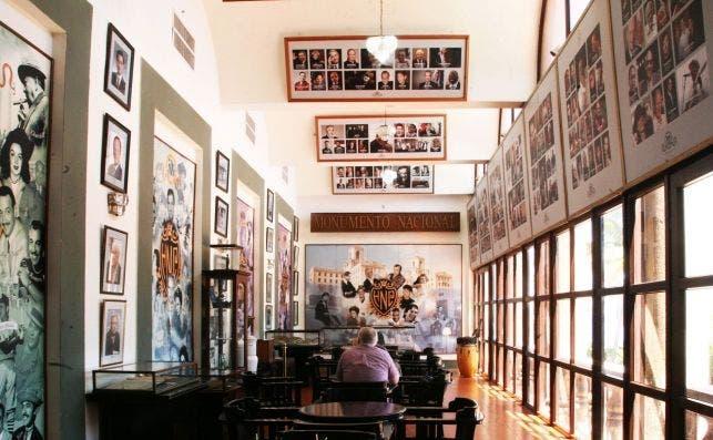 Salon de la Fama, Hotel Nacional de Cuba. Foto Manena Munar.