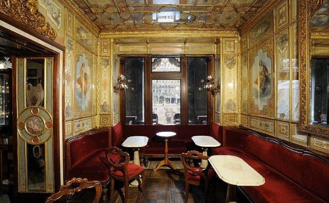 Salon del Senado Foto Caffè Florian