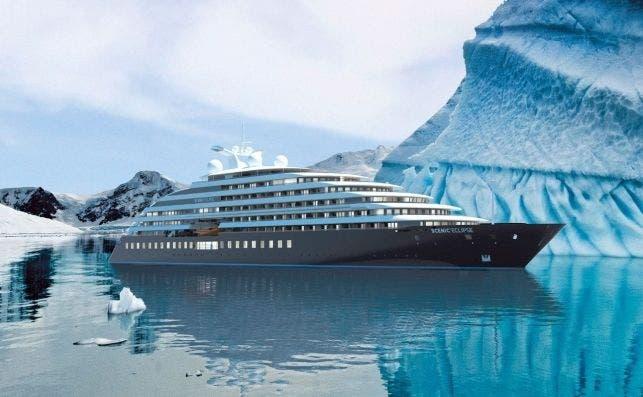 El lujoso Scenic Eclipse aspira ser el primer crucero seis estrellas del mundo.