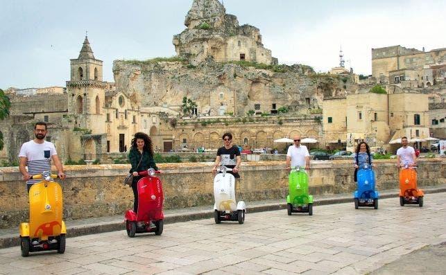 Scooters Matera Apulia destination