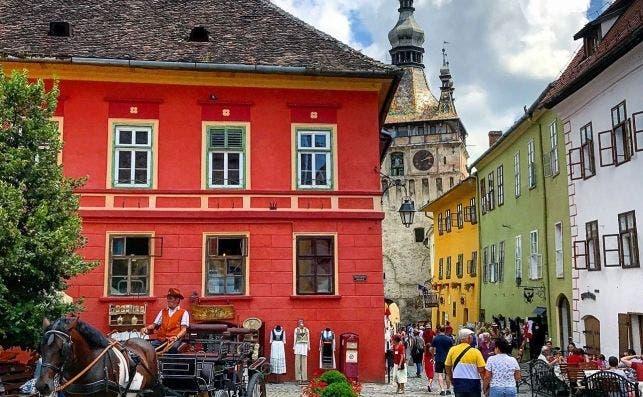 SighiÅŸoara, Romania, Casa Savri. Foto Booking.