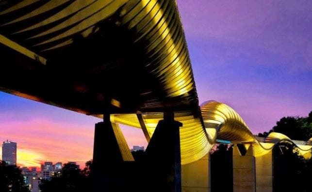 Puente Henderson Waves. Foto: Visit Singapur.