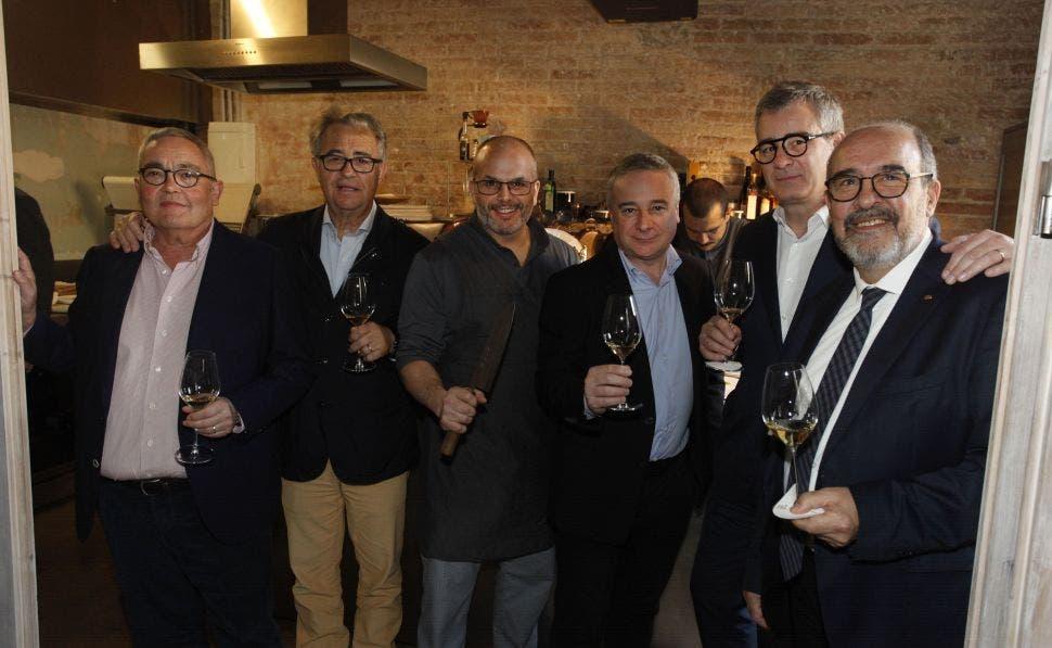 Siscu Martí, Juan Muñoz, Jordi Vilá, Quim Vilá, Jordi Segura y Fernando Gurucharri. Foto: Jordi Català