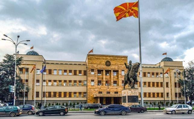 Parlamento de Macedonia del Norte en Skopje. Foto: Dimitris Vetsikas-Pixabay