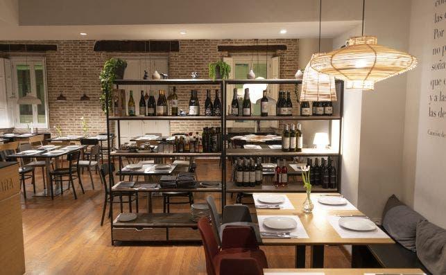 SonriÌe hay vino. Foto: Restaurante Oslo.