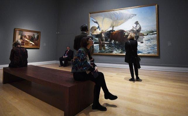 Sorolla National Gallery. Foto Facundo Arrizabalaga EFE.