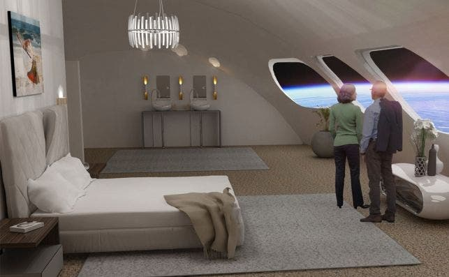 Space hotel. Foto: Gateway Foundation.