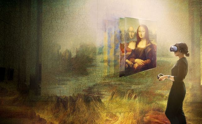 Beyond the Glass. Foto:  Emissive / HTC Vive Arts