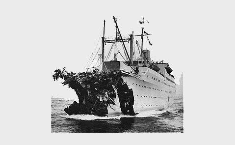 Stockholm following Andrea Doria collision2