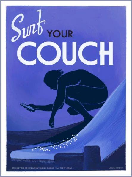 Surfyourcouch. Imagen Jennifer Baer.