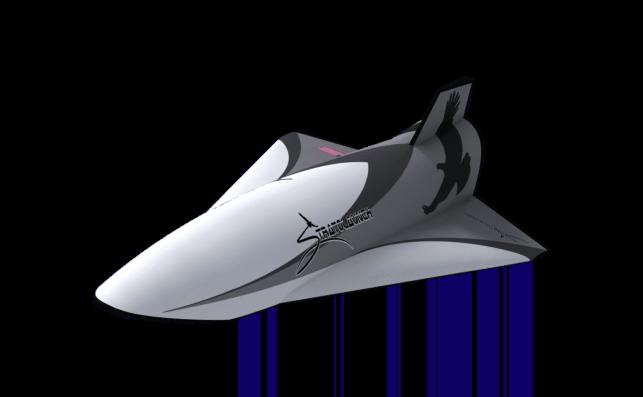 Talon-A, el primer prototipo de vuelos supersónicos. Foto: Stratolaunch