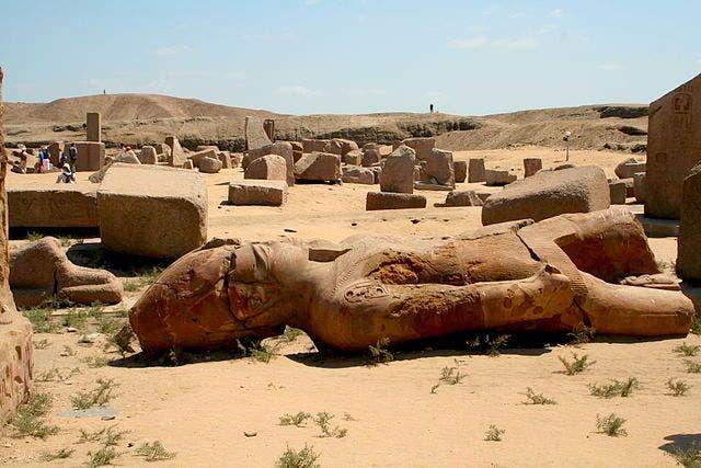 Tanis, Egipto. Foto Wikimedia Commons.