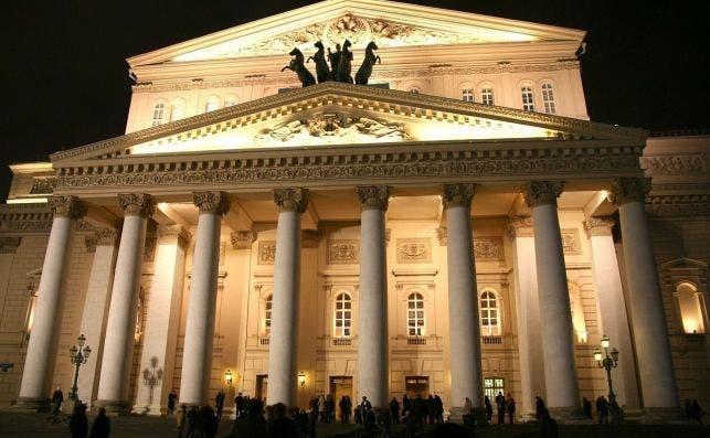 Teatro Bolshói, Moscú. Pixabay.