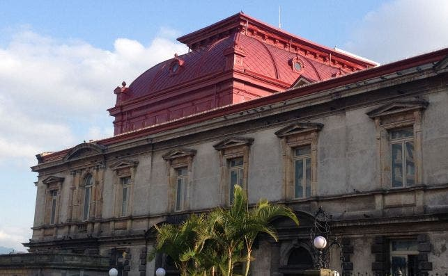 Teatro Nacional San JoseÌ. Foto Turismo de Costa Rica.